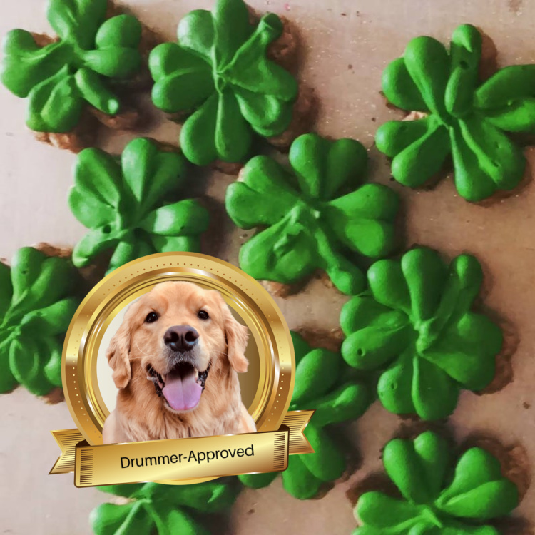 St. Patrick Day Dog Treats